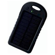 Портативное зарядное устройство SMARTFORTEC ES500 Solar Black (5000mAh)