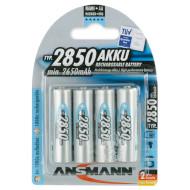 Аккумулятор ANSMANN AA 2850мАч 4шт/уп (5035212)