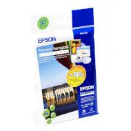 Фотобумага EPSON Premium Semiglossy A6 260г/м² 50л (C13S041765)