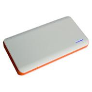 Портативное зарядное устройство SMARTFORTEC PBK-10000 White/Orange (10000mAh)