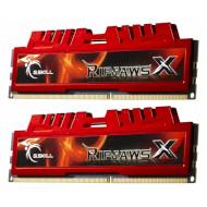 Модуль памяти G.SKILL Ripjaws X Red DDR3 1600MHz 8GB Kit 2x4GB (F3-12800CL9D-8GBXL)