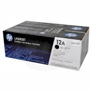 Тонер-картридж HP 12A Dual Pack Black (Q2612AF)