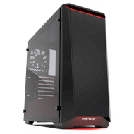 Корпус PHANTEKS Eclipse P400 Tempered Glass Special Edition Black/Red