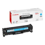 Тонер-картридж CANON 718 Cyan (2661B002)