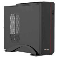 Корпус LOGICPOWER S601 Slim Black/Red (400W)