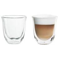 Набор стаканов DELONGHI Cappuccino 190мл 2шт
