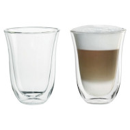 Набор стаканов DELONGHI Latte Macchiato 220мл 2шт