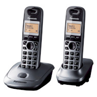 DECT телефон PANASONIC KX-TG2512 Metallic