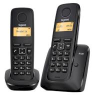 DECT телефон GIGASET A120 Duo Black