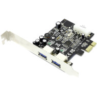 Контроллер STLAB PCI-E to USB 3.0 2-Ports (U-710)