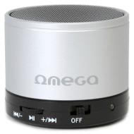 Портативная колонка OMEGA OG47 Silver (OG47S)