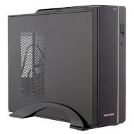 Корпус LOGICPOWER S601 Slim Black/Silver (400W)