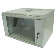 "Настінна шафа 19"" NETS WMNC-6U-FLAT (6U, 600x450мм, RAL7035)"