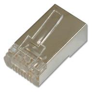Коннектор DIGITUS RJ-45 FTP Cat.6 100 шт/уп. (AK-219603)