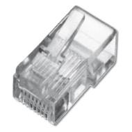 Коннектор DIGITUS RJ-45 UTP Cat.5e 100 шт/уп. (A-MO 8/8 SR)