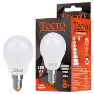 Лампочка LED TECRO TL G45 E14 6W 4000K 220V (TL-G45-6W-4K-E14)