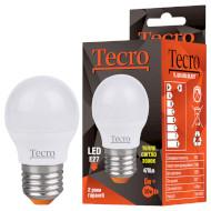 Лампочка LED TECRO TL G45 E27 6W 3000K 220V (TL-G45-6W-3K-E27)