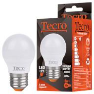 Лампочка LED TECRO TL G45 E27 6W 4000K 220V (TL-G45-6W-4K-E27)