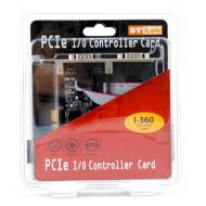 Контроллер STLAB PCI-E to 2-Ports Serial (I-360)