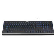 Клавіатура A4TECH KD-600L X-Slim Blue Light