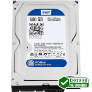 "Жёсткий диск 3.5"" WD Blue 500GB SATA/16MB (WD5000AAKX) Refurbished"