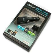 Автомобильное зарядное устройство DEXIM DCA210 Black