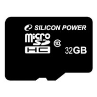 Карта памяти SILICON POWER microSDHC 32GB Class 10 (SP032GBSTH010V10)