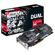 Видеокарта ASUS Radeon RX 580 4GB GDDR5 256-bit Dual OC (DUAL-RX580-O4G)