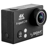 Экшн-камера SIGMA Mobile X-sport C19 Black (X-SPORT C19 BLACK)