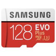 Карта памяти SAMSUNG microSDXC EVO Plus 128GB UHS-I U3 Class 10 + SD-adapter (MB-MC128GA/RU)