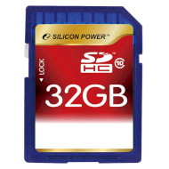 Карта памяти SILICON POWER SDHC 32GB Class 10 (SP032GBSDH010V10)