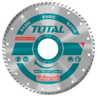 Диск отрезной TOTAL Basic Universal 180x22.2x7.5мм (TAC2131803)