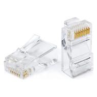 Коннектор ATCOM RJ-45 UTP Cat.5e 100шт/уп (3796)