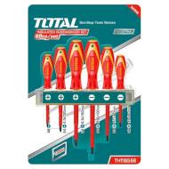 Набор отвёрток TOTAL THTIS566 6пр