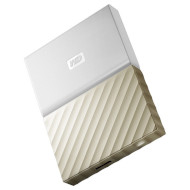 Портативный жёсткий диск WD My Passport Ultra 1TB USB3.0 White/Gold (WDBTLG0010BGD-WESN)