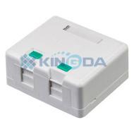 Коробка распределительная KINGDA 2хKeystone (KD-WP06-B)
