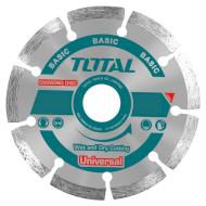 Диск отрезной TOTAL Basic Universal 115x22.2x7.5мм (TAC2111153)