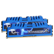Модуль памяти G.SKILL Ripjaws X Blue DDR3L 1600MHz 8GB Kit 2x4GB (F3-12800CL9D-8GBXM)