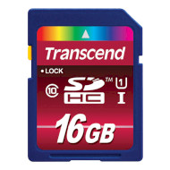 Карта памяти TRANSCEND SDHC Ultimate 16GB UHS-I Class 10 (TS16GSDHC10U1)