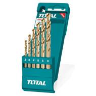 Набор свёрл по металлу TOTAL 2-8мм 6шт (TACSD0065)