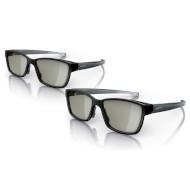 3D очки PHILIPS PTA436 Twin Pack Black