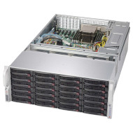 Корпус SUPERMICRO SuperChassis 847BE1C-R1K28LPB Rackmount 4U 2х1280Вт