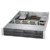 Корпус SUPERMICRO SuperChassis 825TQ-600LPB Rackmount 2U 600Вт