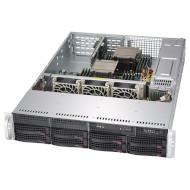 Корпус SUPERMICRO SuperChassis 825TQC-R740LPB Rackmount 2U 2х740Вт