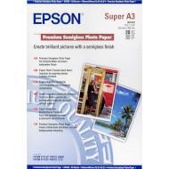 Фотобумага EPSON Premium Semi-Gloss A3+ 250г/м² 20л (C13S041328)