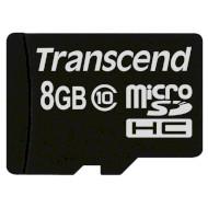 Карта памяти TRANSCEND microSDHC Premium 8GB Class 10 (TS8GUSDC10)
