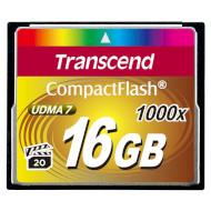 Карта пам'яті TRANSCEND CompactFlash 16GB 1000x (TS16GCF1000)