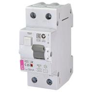 Дифференциальный автоматический выключатель ETI KZS-2M C 20/0,03 (2173125)