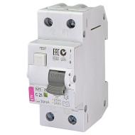 Дифференциальный автоматический выключатель ETI KZS-2M C 25/0,03 (2173126)