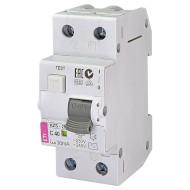 Дифференциальный автоматический выключатель ETI KZS-2M C 40/0,03 (2173128)